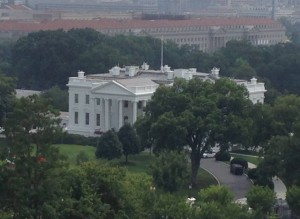 The White House seen from ICANN's HQ in Washington DC