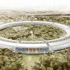 Artist's rendering of Apple Campus Two, which is under construction